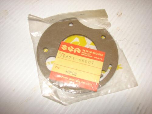 Suzuki AS50 TS50 TM75 NOS Inner Disc Valve Gasket OEM 12471-05001 Models 71-77