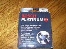 Bosch 4011 Platinum Plus Spark Plugs Set of 4  NOS Free Shipping