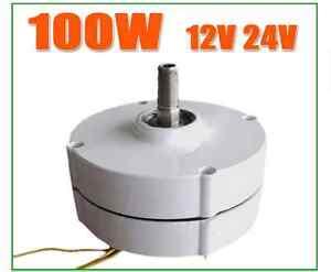 Image Is Loading Low Rpm 100w 12v 24v Generator Alternator Wind