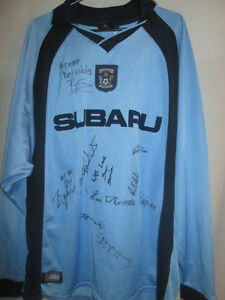 Coventry-City-2002-2003-Match-Worn-Squad-Signed-Football-Shirt-with-COA-6786