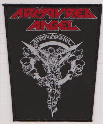 Armoured Angel Crucifiction Patch Slayer Metallica Megadeth Exodus Testament