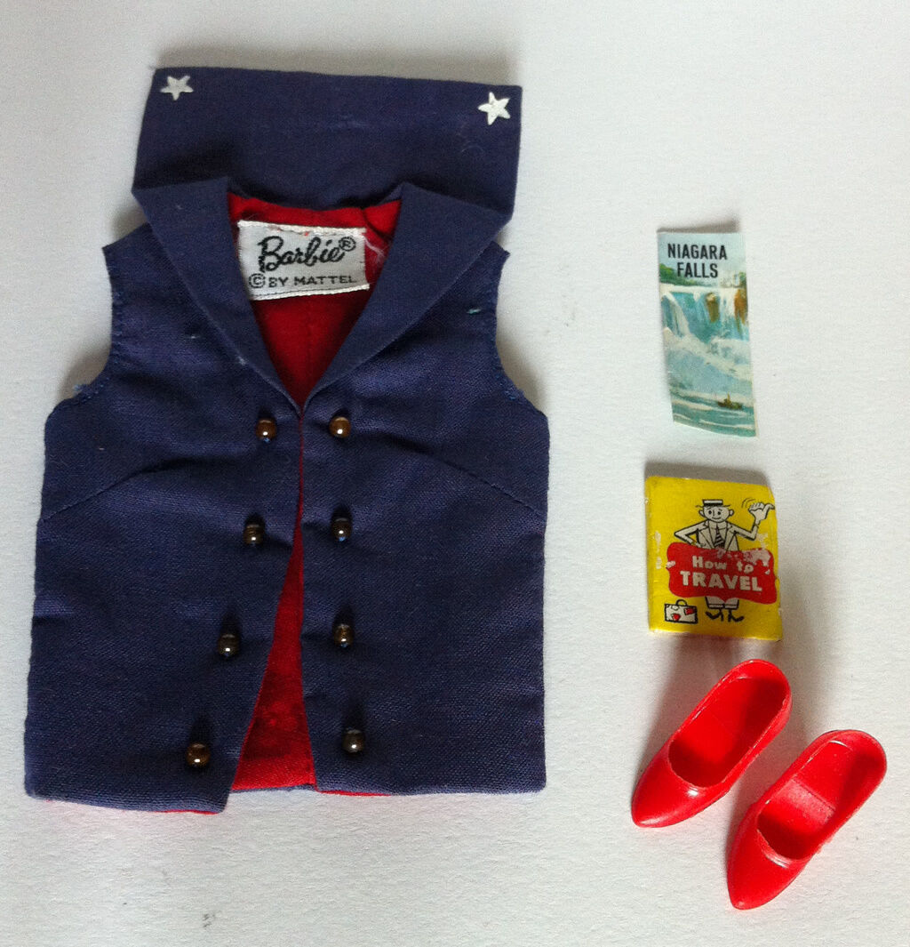 ORIGINAL BARBIE VINTAGE CLOTH   1631 ABROAD SHIP