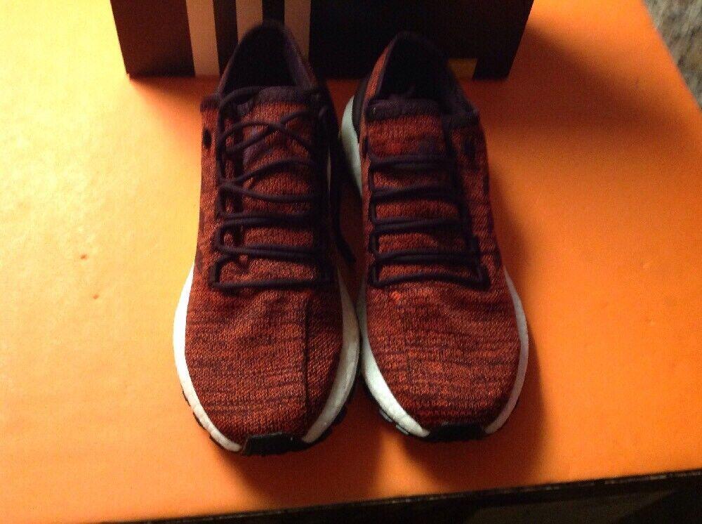 Mens Adidas PureBOOST All Terrain S80786 Dark Burgundy Red Night Brand New Sz 10