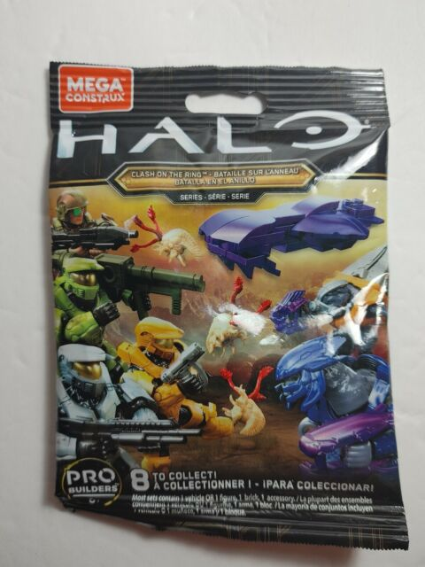 Mega Bloks Construx Halo Clash on the Ring Series Silver UNSC Spartan Figure
