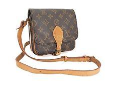 Auth Vintage LOUIS VUITTON Cartouchiere PM Monogram Shoulder Bag Purse #25906