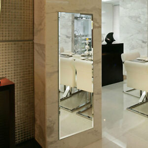 Details About 18x57 In Wall Mounted Full Length Mirror Large Frameless Vanity Deco