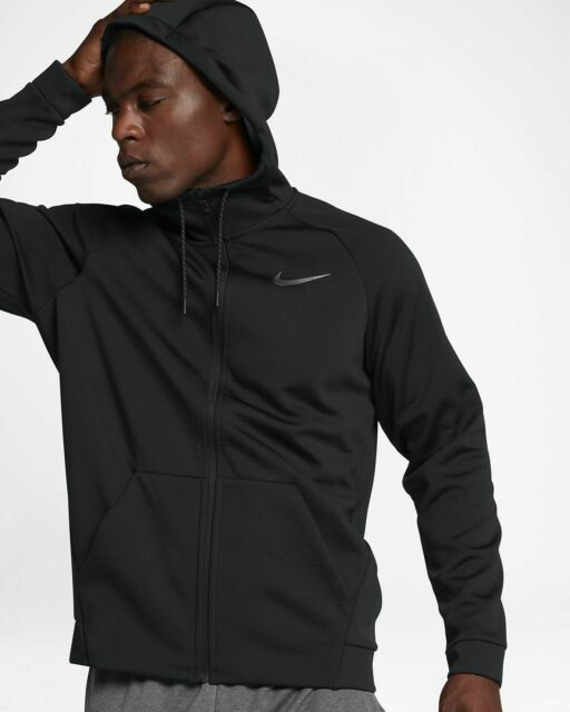 Rápido ruido Determinar con precisión  Mens Nike Therma Sphere Training Jacket 860511-010 Black Brand New Size M  for sale online