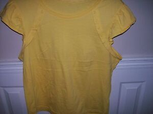 Ladies-Lovely-Yellow-Top-New-Size-18