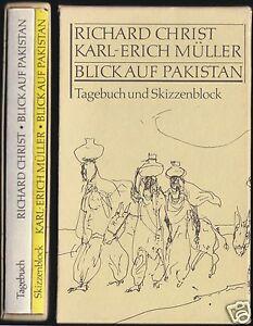 Christ-R-Mueller-K-E-Blick-auf-Pakistan-Tagebuch-und-Skizzenblock-1982