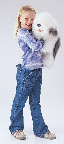 SHEEPDOG Puppet USA  Folkmanis Puppets