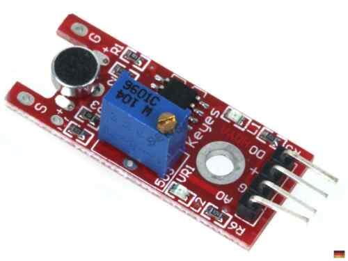 Analog Audio Sensore Sensore rumore Microfono Sensore Modulo Arduino Raspberry Pi