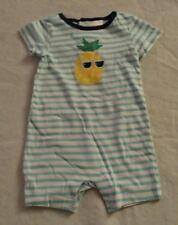NWT Gymboree Little Farm Romper 1PC Newborn Essentials Baby Boy