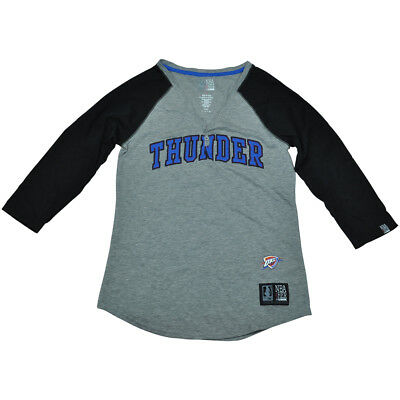Sporting Oklahoma Stadt Thunder Unk Nba Halbarm T-shirt Knöpfe V-ausschnitt Shirt Damen Ein Unverzichtbares SouveräNes Heilmittel FüR Zuhause Weitere Ballsportarten