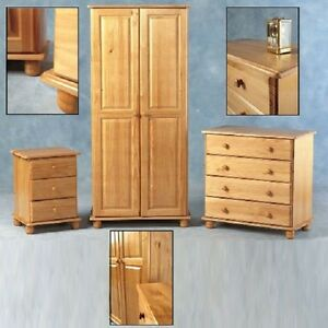 Sol-SOLID-ANTIQUE-PINE-WARDROBE-OR-CHEST-OF-DRAWERS-OR-BEDSIDE-FREE-DELIVERY