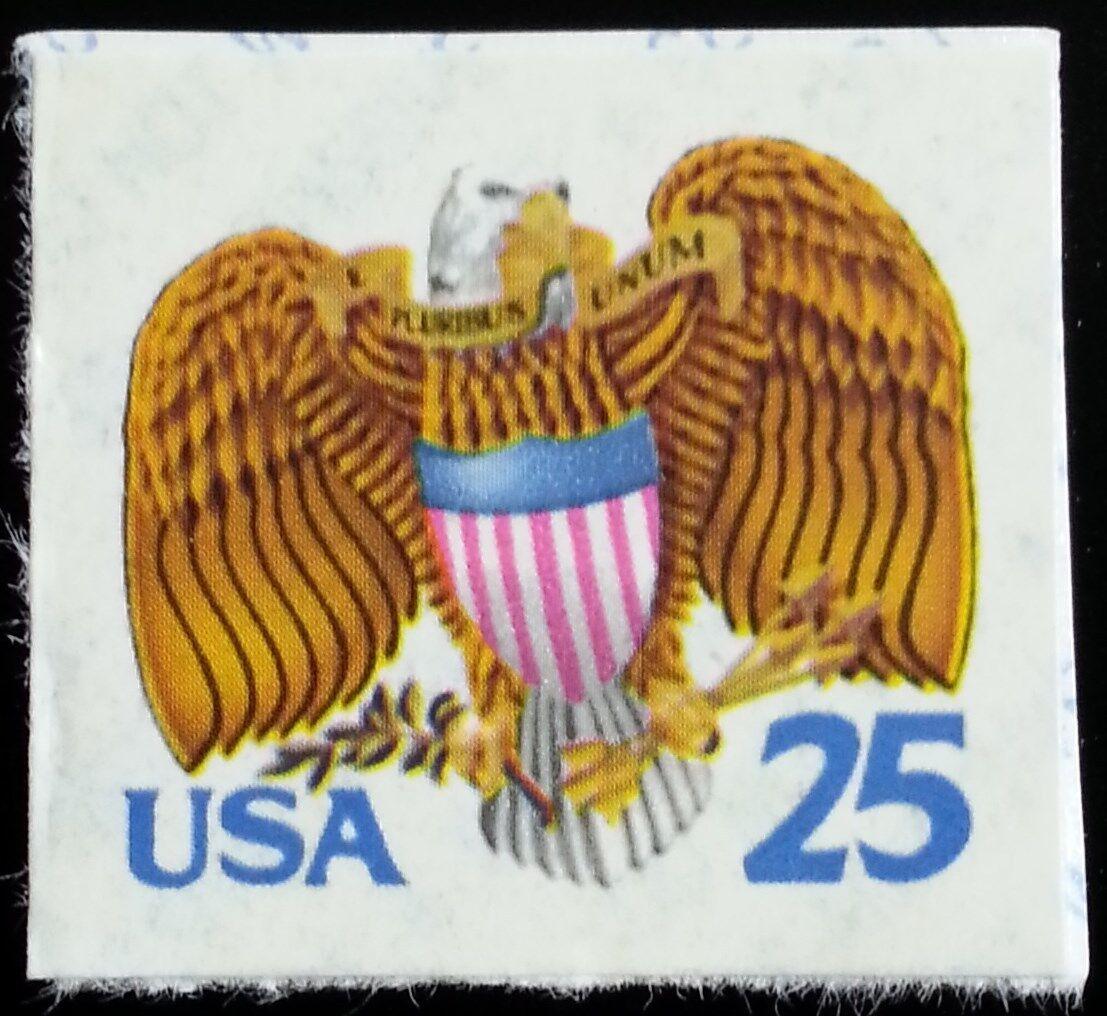 1989 25c Eagle & Shield, SA Scott 2431 Mint F/VF NH