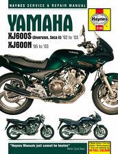 HAYNES 2145 MOTORCYCLE BIKE REPAIR MANUAL YAMAHA XJ600S DIVERSION SECA II 92-03
