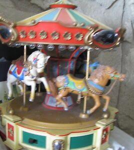 Vintage Enesco 1983 Toy Carousel Music box