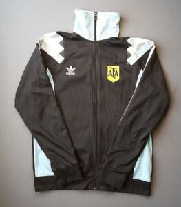 klasszikus illeszkedés vásárolni népszerű legjobb ajánlatok 4.5/5 Argentina replica vintage retro jacket LARGE soccer football ...