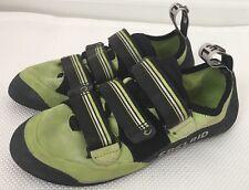 Edelrid Sigwa Climbing Rock pull straps Shoes Lime Green UK 6 US Men 7 EU 39.5