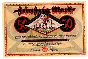 Germany-Germany-ticket-50-mark-1922-Dorionnais-dortmund-xf-au