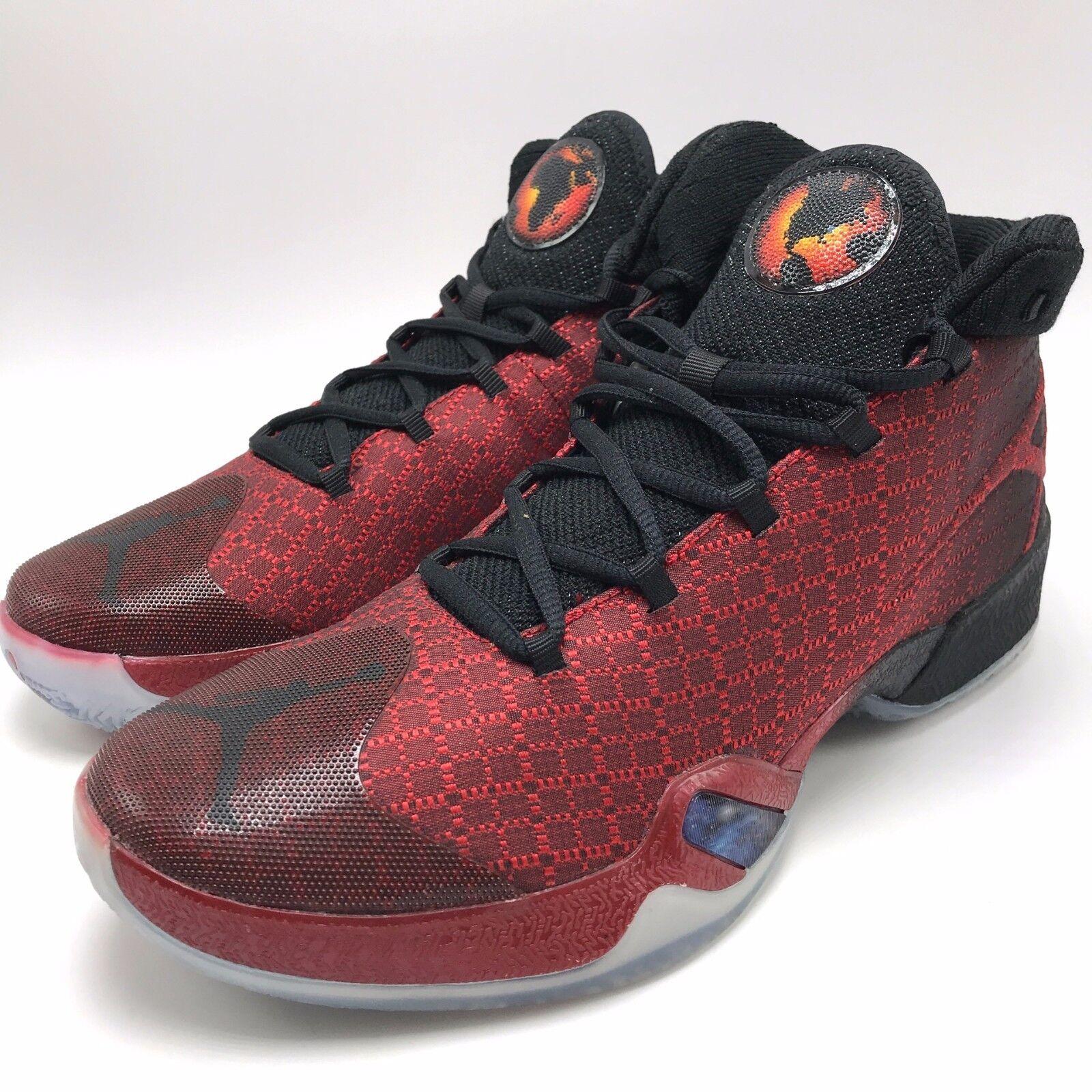 Nike jordan xxx männer - schwarz rot / rot - schwarz 811006-601 im fitnessstudio