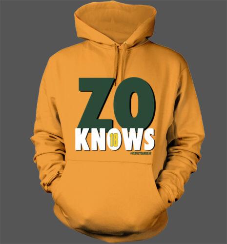 Zo Knows Hoodie Oakland Athletics A/'s Ben Zobrist Stomper Green Collar