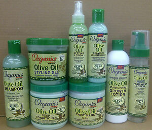 Organics olive oil hair products