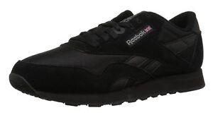 Reebok Course Carbone Hommes Nylon Tennis Noir Chaussures Classique De Article BqArfwB