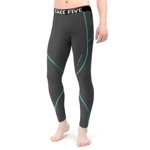 Take Five Mens Skin Tight Compression Base Layer Running Pants Leggings NT510
