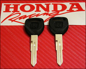 Genuine OEM Honda Master Key Blank Civic CR-V CRX del Sol Prelude Odyssey