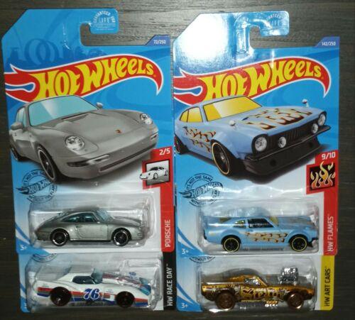 2020 Hot Wheels Kroger Exclusives J Case Full Set of Four HTF