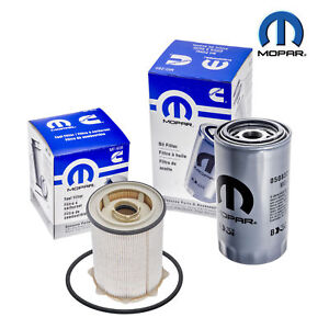 66e787b68 Image is loading Mopar-Diesel-Fuel-amp-Oil-Filter-68065608AB-05083285AA-