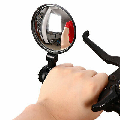 Cycling Bike Bicycle Rear Back View Mirror Handlebar Flexible Safe Rear view cby