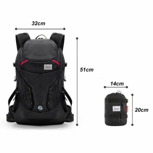 Details about  /Backpack Folding Lightweight Portable Waterproof Unisex Travel Hiking Outdoor