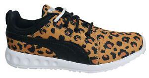 Puma Carson da corsa con lacci stampa ghepardo tessuto Donna Scarpe ginnastica