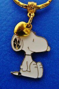 PEANUTS Charlie Brown/'s Beagle Dog Peanut/'s SNOOPY with Heart Jewelry Keychain