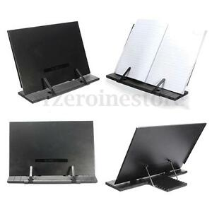 Portable-Steel-Book-Document-Holder-Reading-Desk-Book-Stand-Bookrest-Bookstand