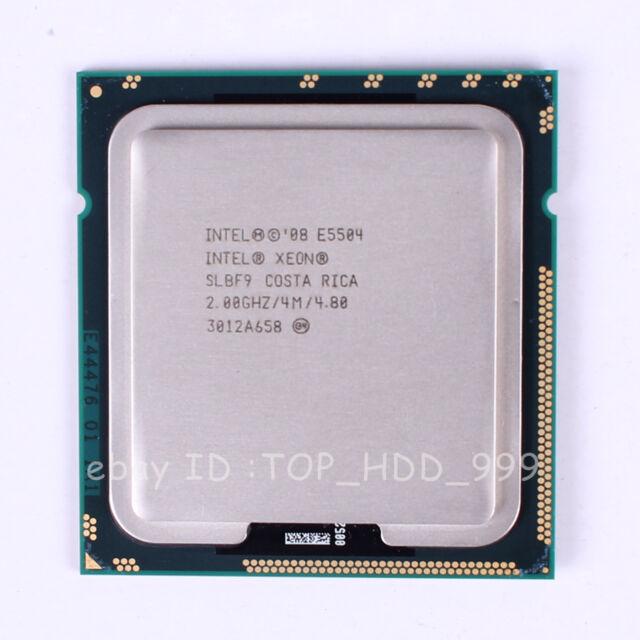 Intel Xeon E5504 SLBF9 LGA 1366 2 GHz 4.8 GT/s Quad-Core CPU Processor