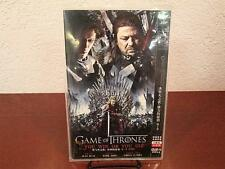 2011 GAME OF THRONES YOU WIN OR YOU DIE DVD-9 VIDEO 2-PACK JAPAN SEPTWOLVES