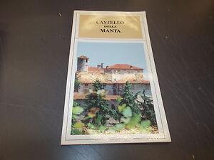 CASTELLO-DELLA-MANTA-GUIDA-TURISTICO-PRATICA-GRIBAUDO-EDITORE-1989-BUONISSIMO