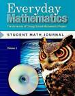 Everyday Mathematics Student Math Journal, Volume 1 Grade 5: The University of Chicago School Mathematics Project by Max Bell (Paperback / softback, 2006)