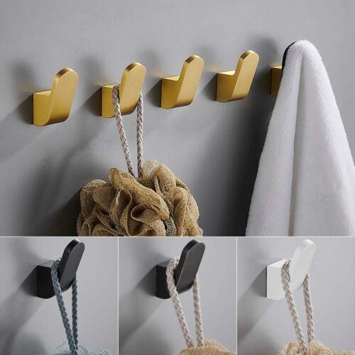 Robe Hook Bathroom Hooks for Towels Key Bag Hat Hooks Wall Mounted Hangers`