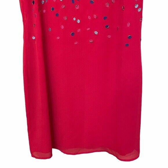 Belle Badgley Mischka   Embroidered & Beaded Dress - image 6