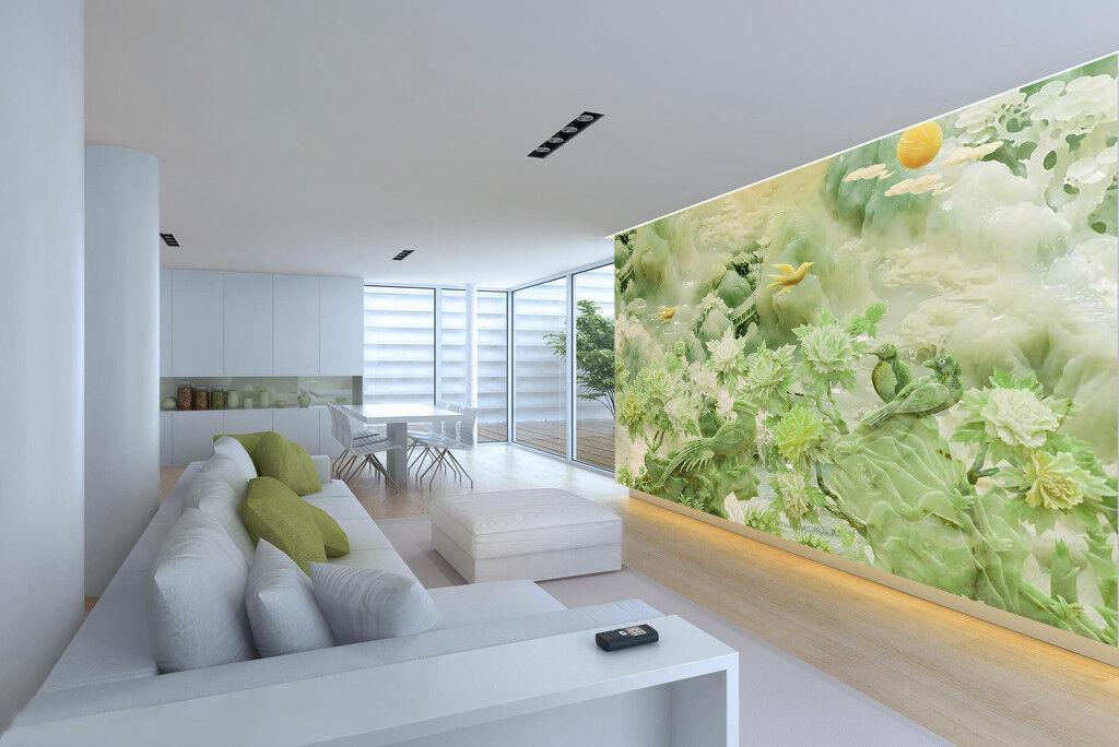 3D Grün Landscape 987 Wallpaper Mural Wall Print Wall Wallpaper Murals US Carly