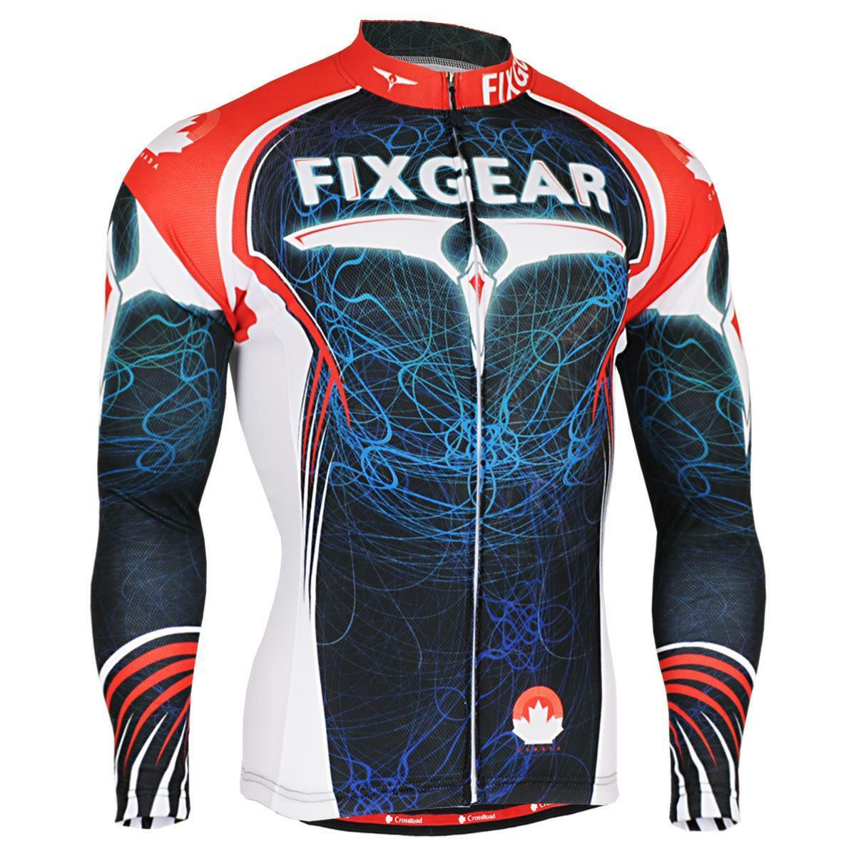 Fixgear cs-3501 Para Hombre  Manga Larga De Ciclismo Bicicleta Apparel roadbike Mtb  autorización oficial
