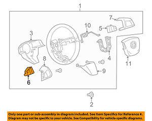 cadillac gm oem 14 16 srx steering wheel cruise control button rh ebay ca