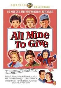 Todo-Mine-a-Dar-DVD-1957-Glynis-Johns-Cameron-Mitchell-Rex-Thompson