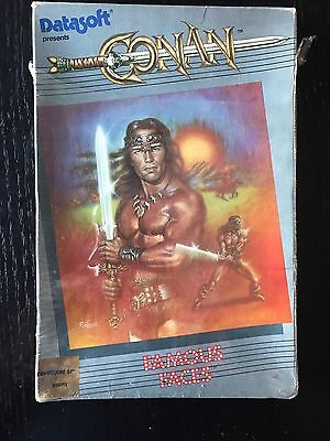 Commodore 64/128: CONAN - C64 ORIGINAL Disk - Untested - Datasoft