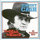 The Man in Black 40 Greatest Hits Johnny Cash Audio CD