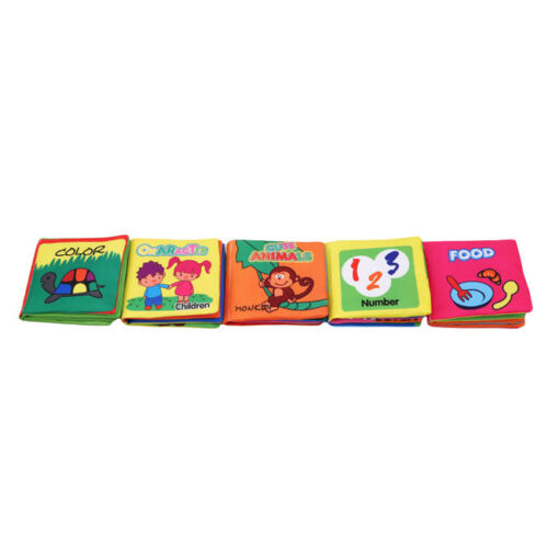 Educational Intelligence Development Soft Cloth Cognize Book Toy For Kid Baby LE